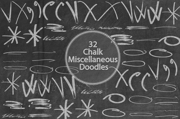 Chalk Miscellaneous Doodles
