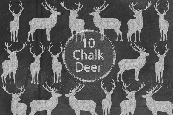 Chalk Deer