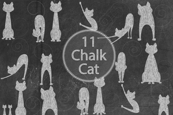 Chalk Cats