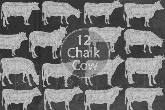 Chalk Cows