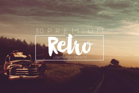 Retro Lightroom Presets - Actions