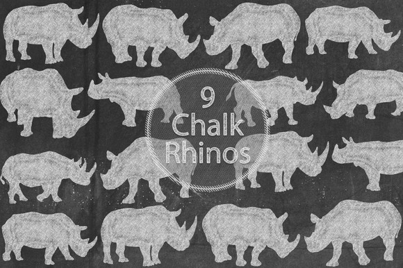 Chalk Rhinos