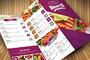 Clean Food Menu-Graphicriver中文最全的素材分享平台