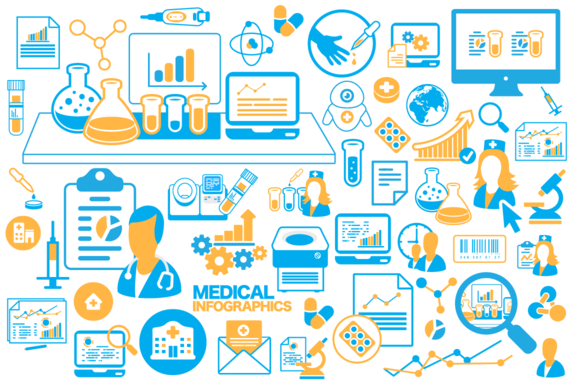 Medical Infographics Ve§гtor Icons