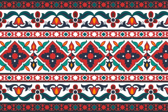Azerbaijani Turkish Ornament