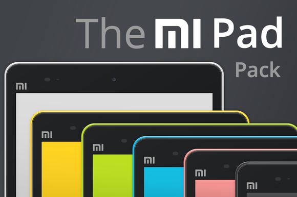 Xiaomi Mi Pad Vector Pack