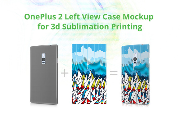 OnePlus 2 3D Case Design Mock-up