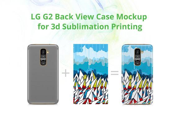 LG G2 3D Case Design Mock-up
