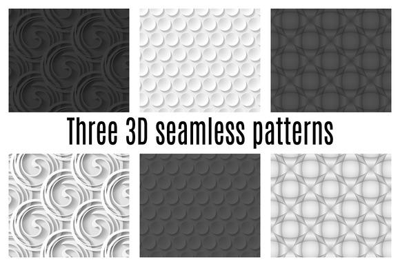 Three 3D Patterns