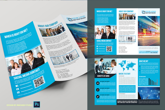CM Trifold Business Brochure Vol01 - 374755