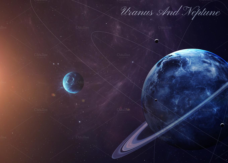 Solar system ~ Abstract Photos on Creative Market