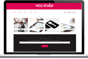 Miri Responsive Wordpress Theme