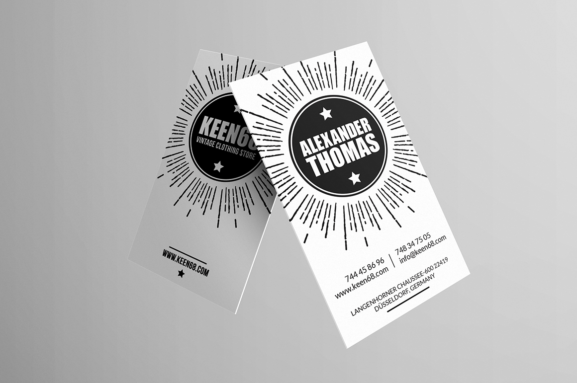 Hipster business card business card templates on for Hipster business card