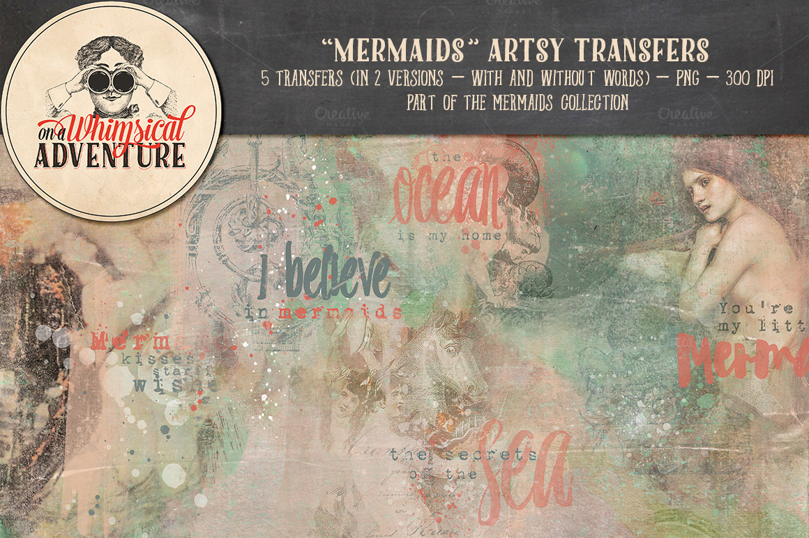 Mermaids Collection ~ Illustrations on Creative Market
