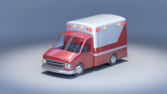 Toycar Ambulance