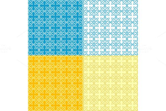 Simple Grid Pattern. Vector - Patterns