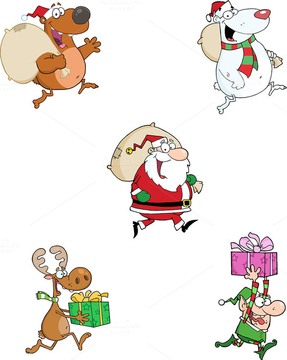 Christmas Characters Collection 2