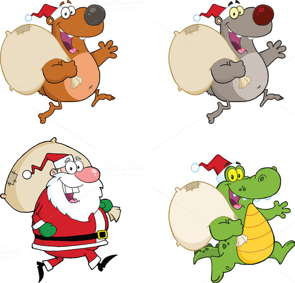 Christmas Characters Collection 3