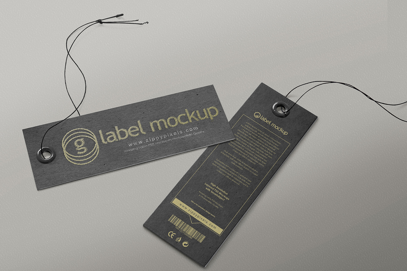 apparel label tag mockups vol 1 product mockups on creative market. Black Bedroom Furniture Sets. Home Design Ideas