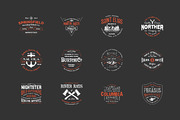 Hipster Vintage Logo Pack 2-Graphicriver中文最全的素材分享平台