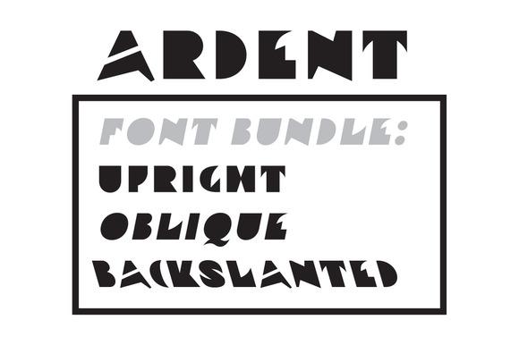 Ardent Font Bundle