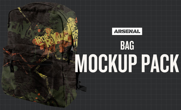 Bag Mockup Template Pack
