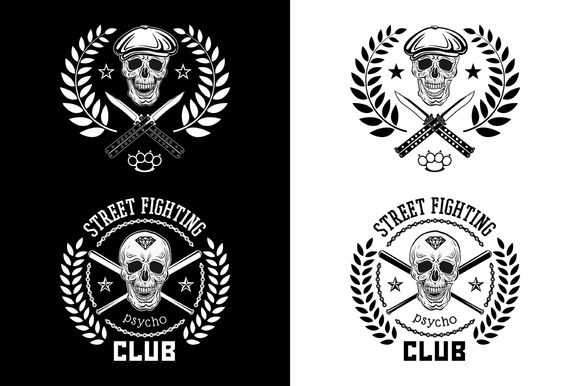 Street Fighting Club Psycho Emblem