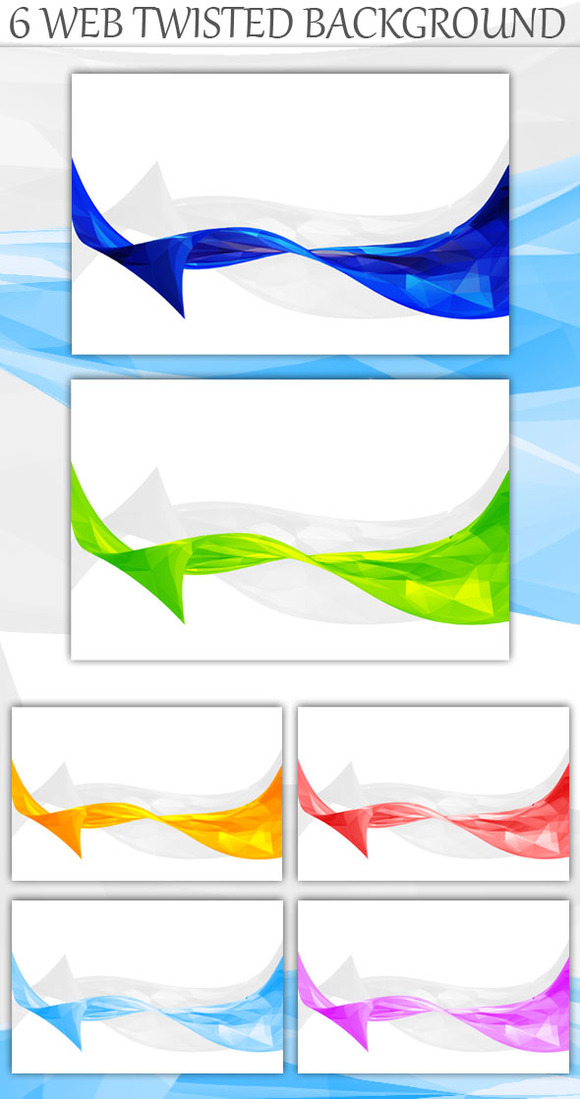 Web Twisted Background