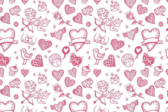 Love Patterns Set