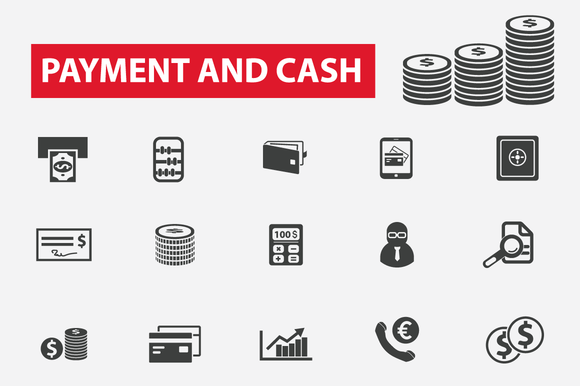 25 Finance Payment Cash Icons
