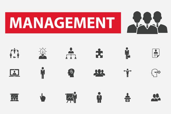 36 Management Icons