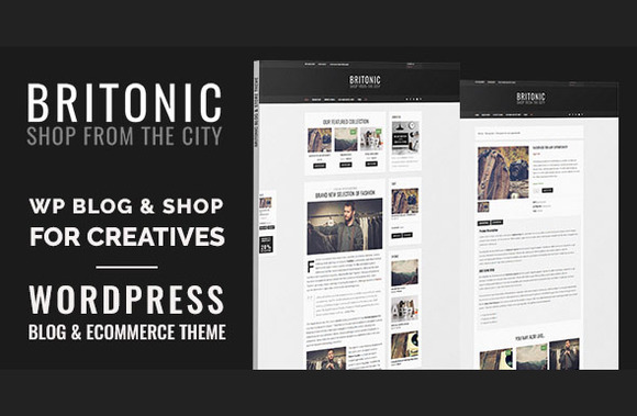 Britonic Ecommerce Wordpress Theme