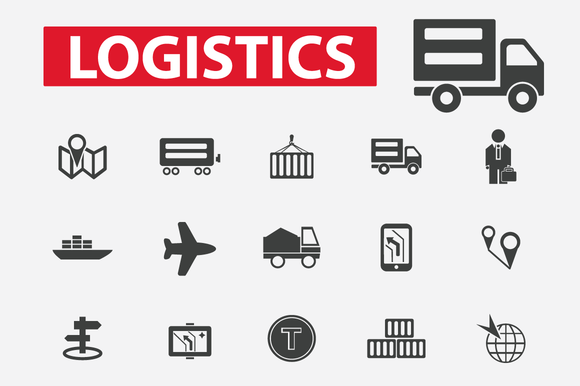 Logistics Delivery Icons