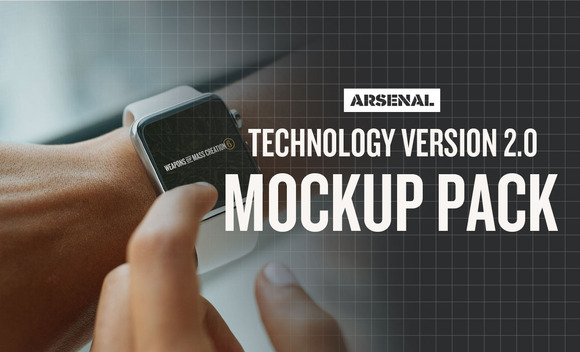 Technology Mockup Templates Pack