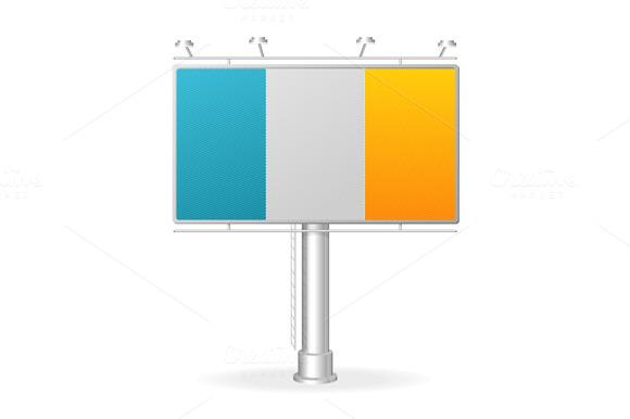 Billboard Set. Vector - Illustrations