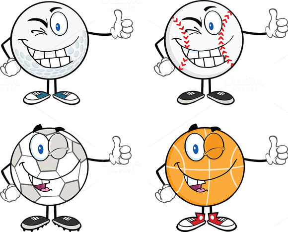 Sport Balls Collection 4