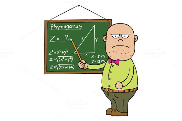 Male Mathematic Teacher