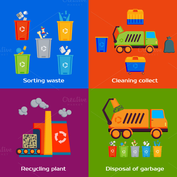 Cleaning And Sorting Of Garbage