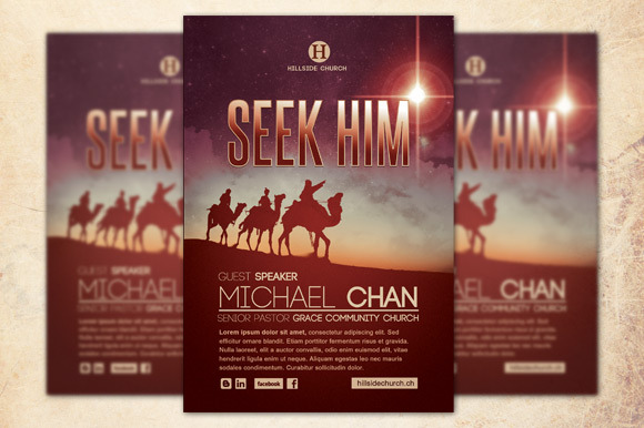 how to make a church flyer