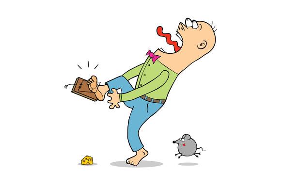 Beware Of Rat Trap