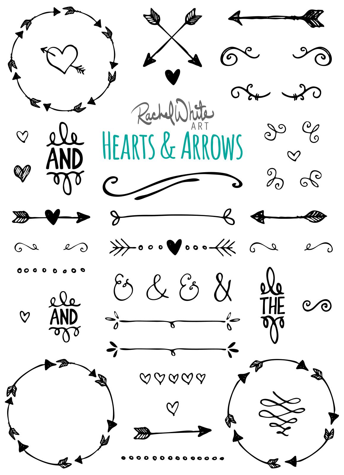 hearts arrows vector png illustrations on creative. Black Bedroom Furniture Sets. Home Design Ideas