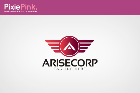Arise Corp Logo Template