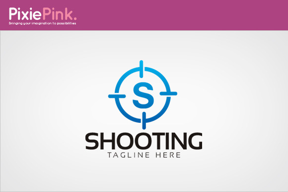 Shooting Logo Template