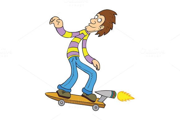 Turbo Skateboarding