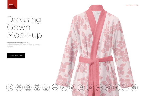 Dressing Gown Mock-up