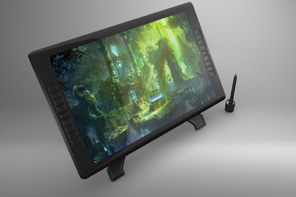 Wacom Cintiq 22HD Touch Mock Up