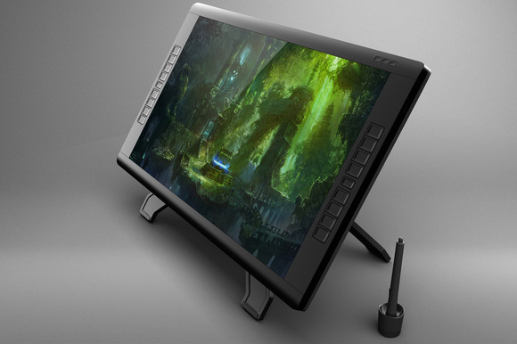 Wacom Cintiq 22HD Touch Mock Up