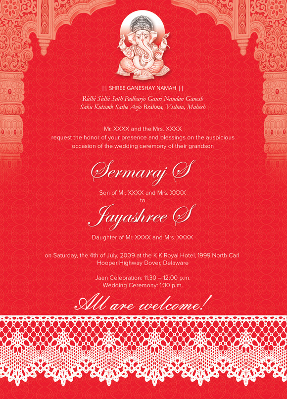 your Wedding Invitation « Marigold Events – Indian Wedding