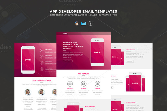 Email Templates For App Development