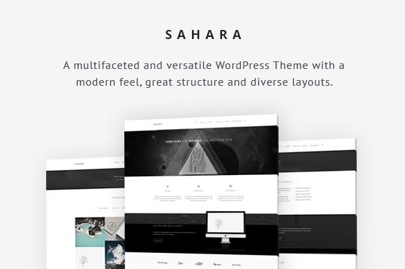 Sahara Business WordPress Theme